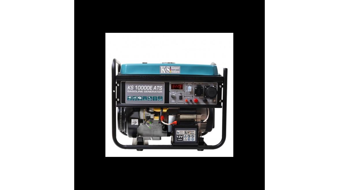 Бензиновый генератор Konner&Sohnen 10000E ATS