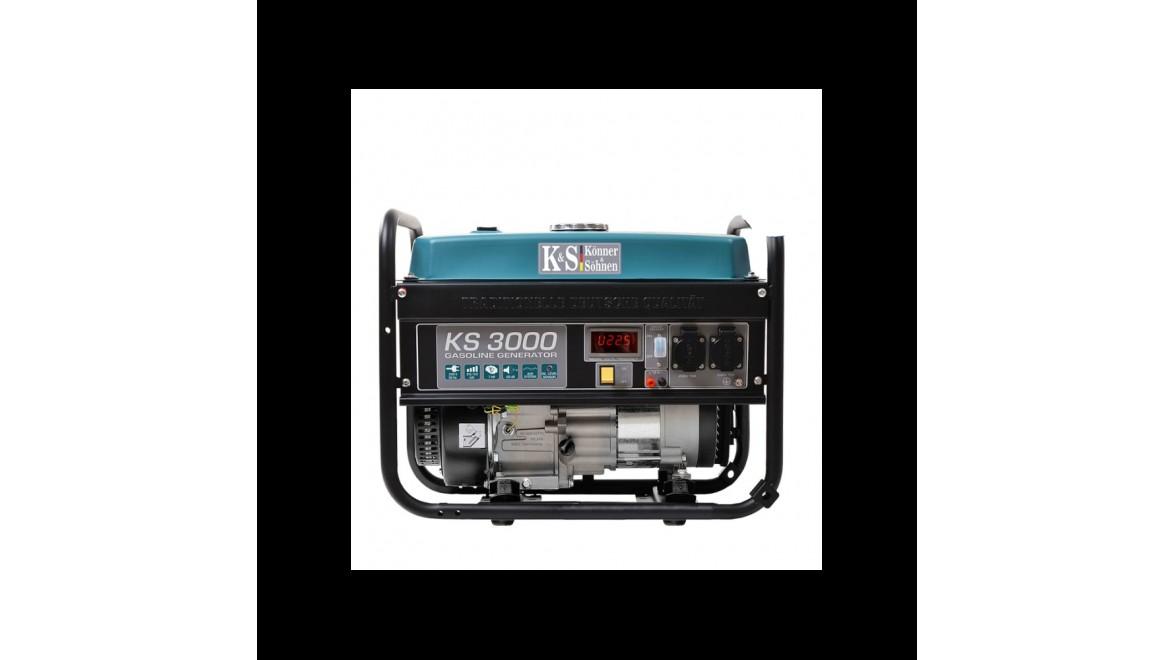 Бензиновый генератор Konner&Sohnen 3000