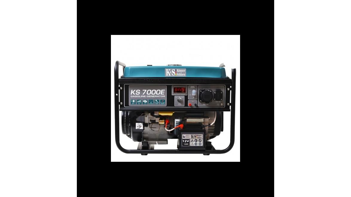 Бензиновый генератор Konner&Sohnen 7000E