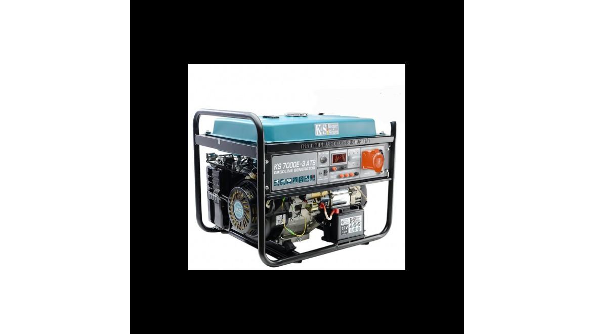 Бензиновый генератор Konner&Sohnen 7000E-3 ATS