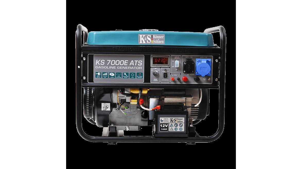 Бензиновый генератор Konner&Sohnen 7000E ATS