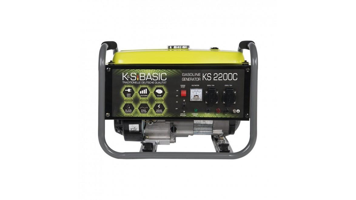 Бензиновый генератор Konner&Sohnen BASIC KS 2200 С