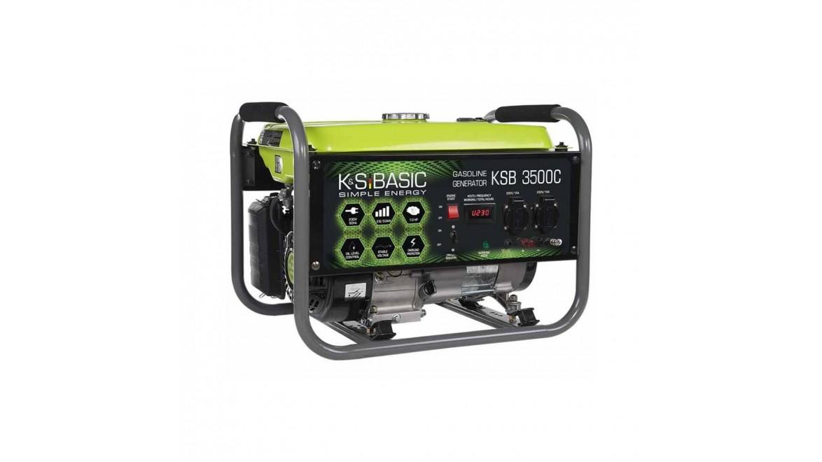 Бензиновый генератор Konner&Sohnen BASIC KS 3500 С