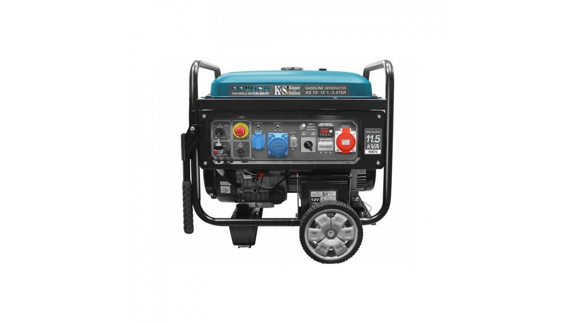 Бензиновый генератор Konner&Sohnen KS 12-1E 1/3 ATSR