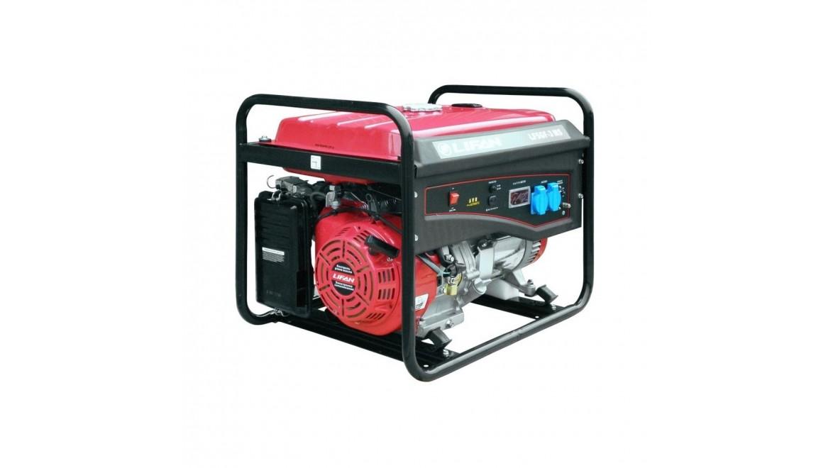Бензиновый генератор Lifan LF5GF-3MS