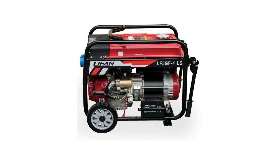 Бензиновый генератор Lifan LF5GF-4 LS