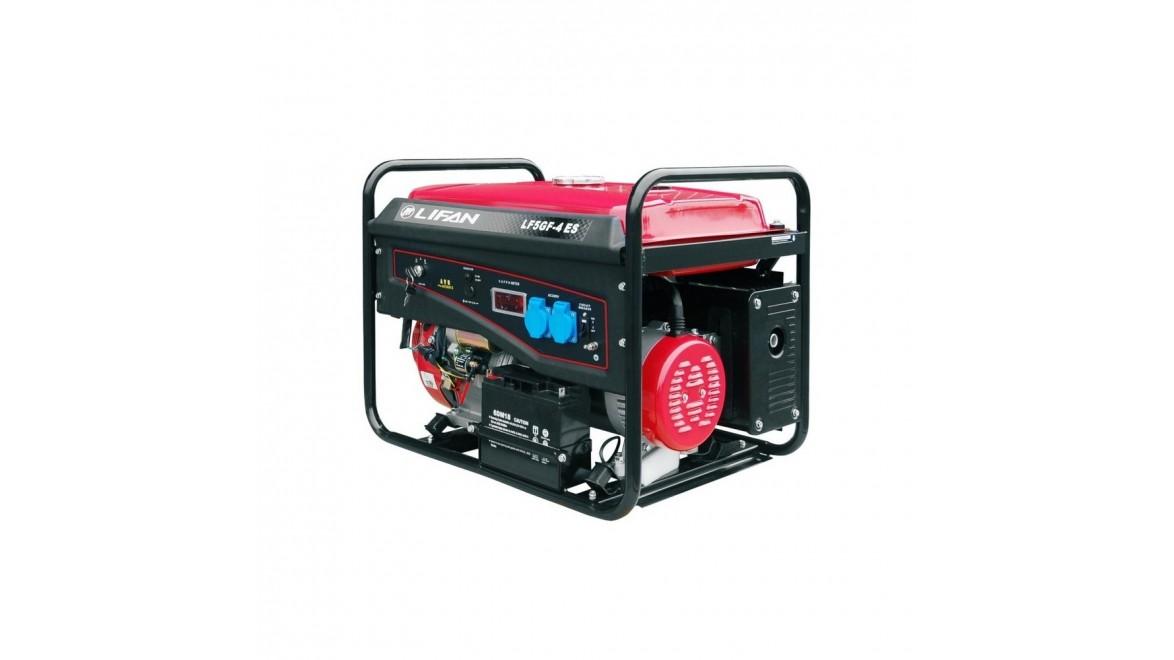Бензиновый генератор Lifan LF5GF-4ES