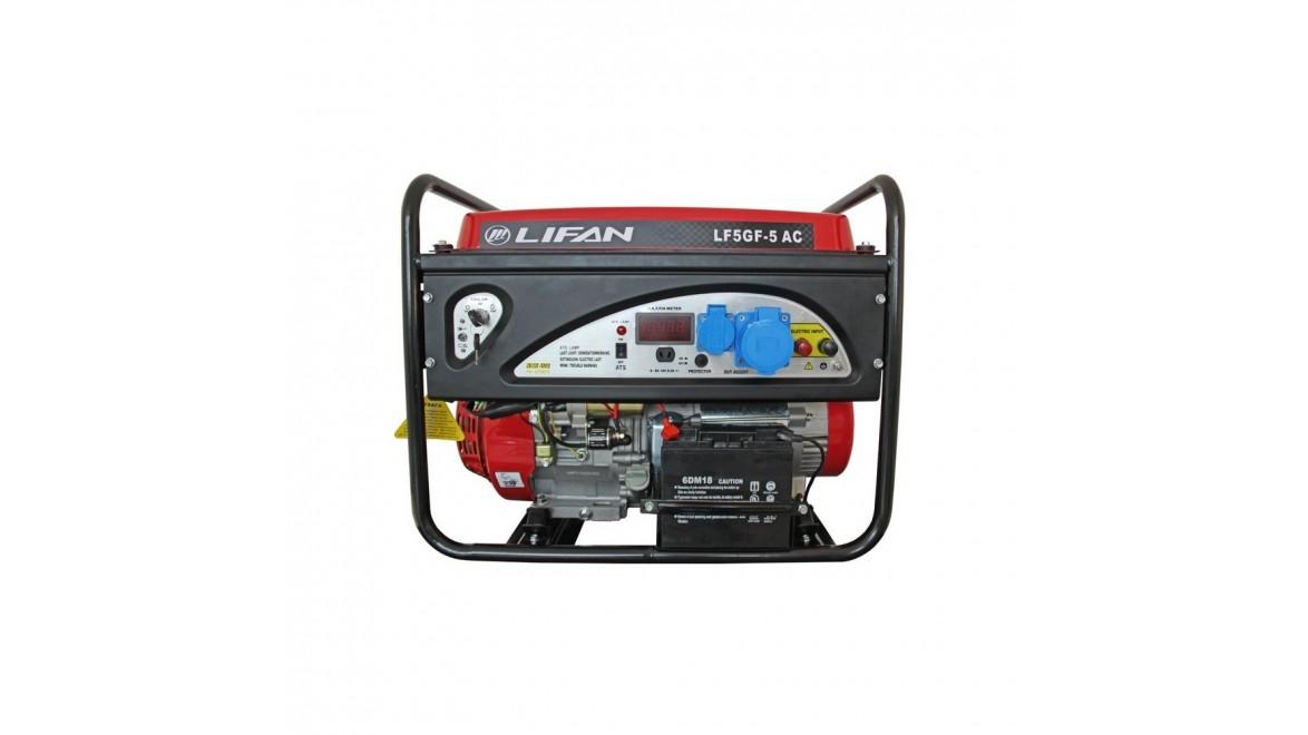 Бензиновый генератор Lifan LF5GF-5.0 AUTO CONTROL