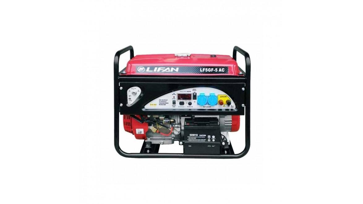 Бензиновый генератор Lifan LF5GF-5AC с АВР