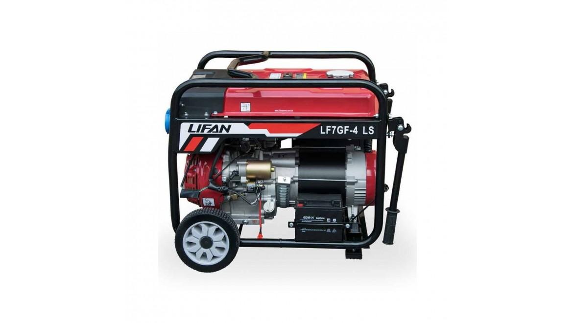 Бензиновый генератор Lifan LF7GF-4LS