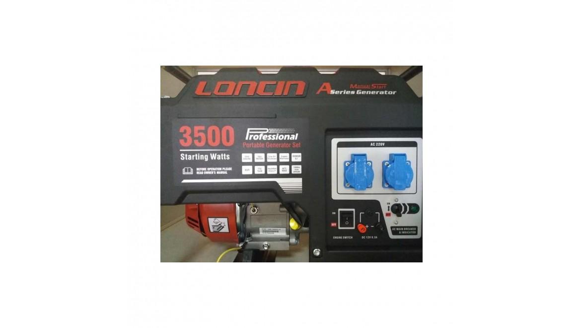 Бензиновый генератор Loncin LC 3500 - AS