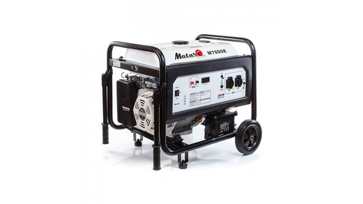Бензиновый генератор Matari M7000E ATS