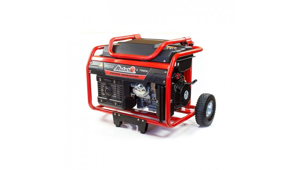 Бензиновый генератор Matari S7990E ATS
