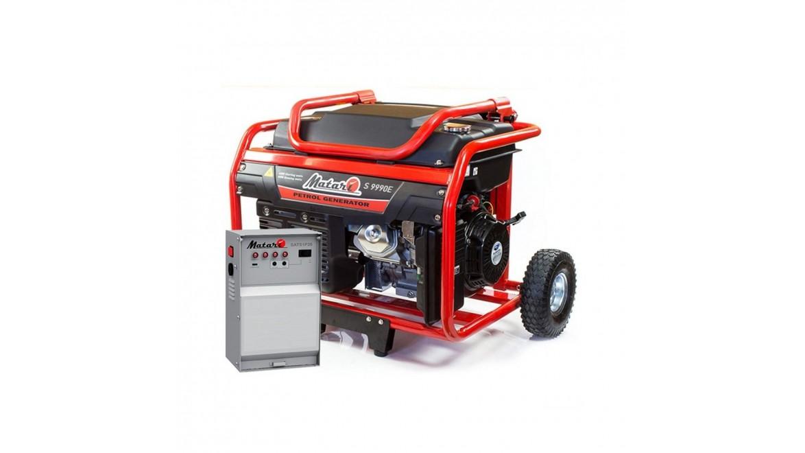 Бензиновый генератор Matari S9990E ATS