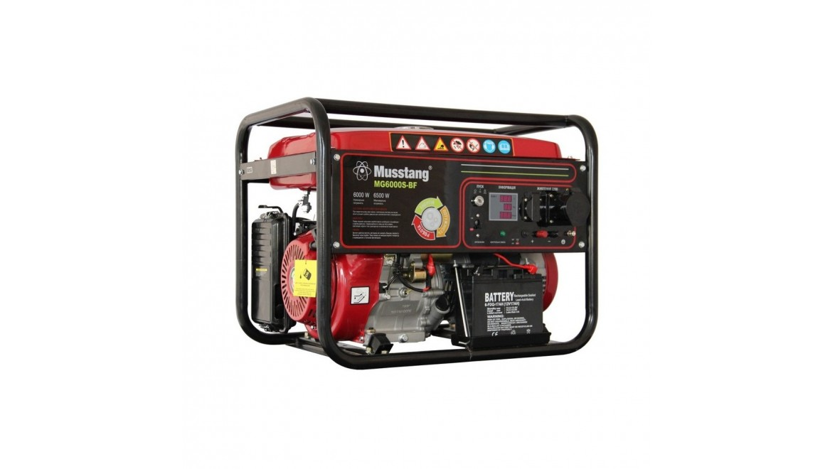 Бензиновый генератор Musstang MG6000S/32A