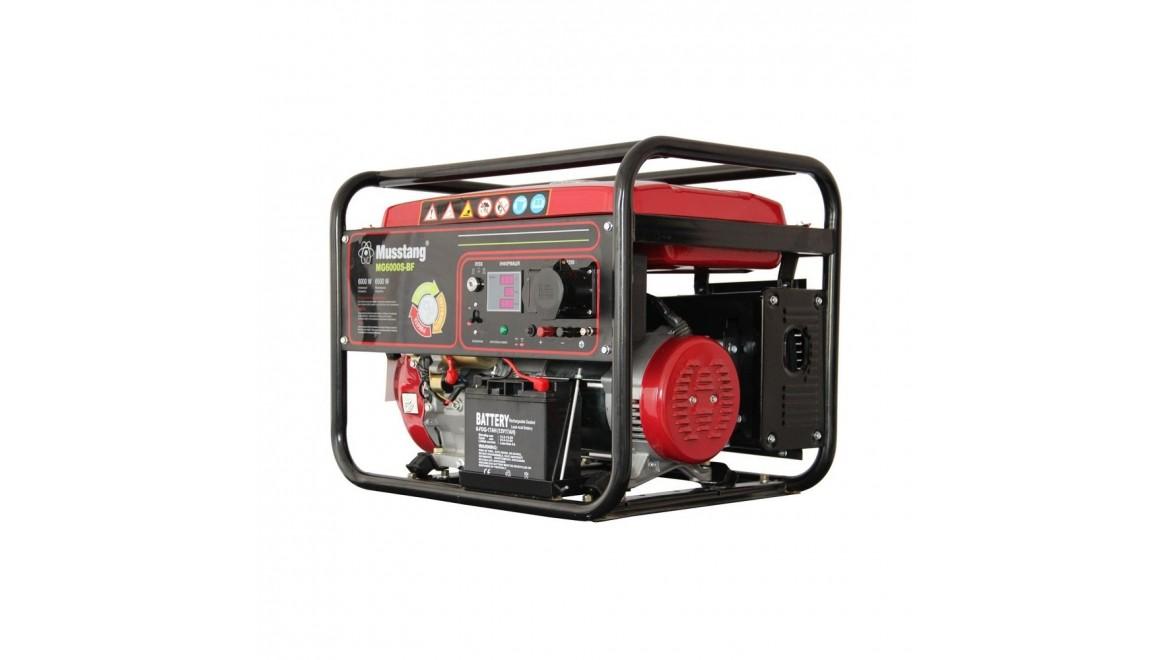 Гибридный генератор Musstang MG6000S-BF/32A BG