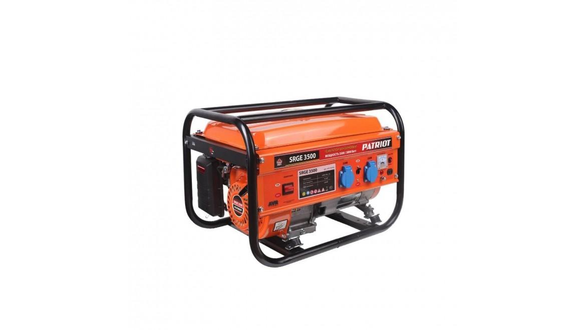Бензиновый генератор Patriot SRGE 3500