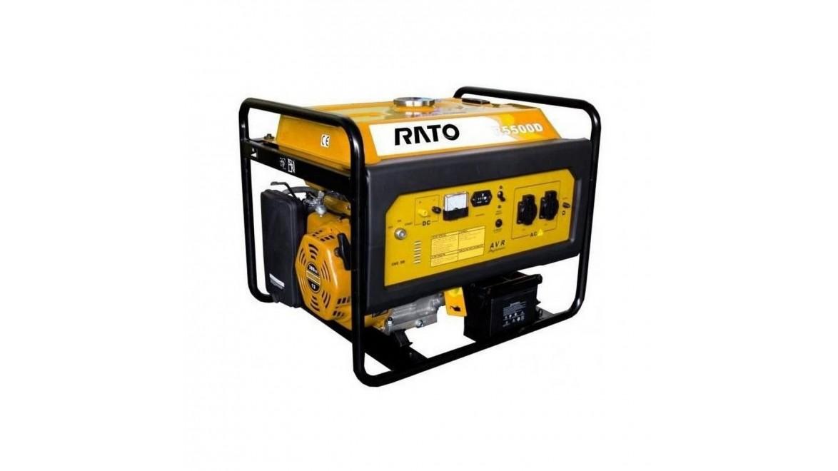 Бензиновый генератор Rato R5500Е