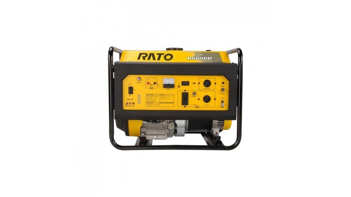 Бензиновый генератор Rato R6000D