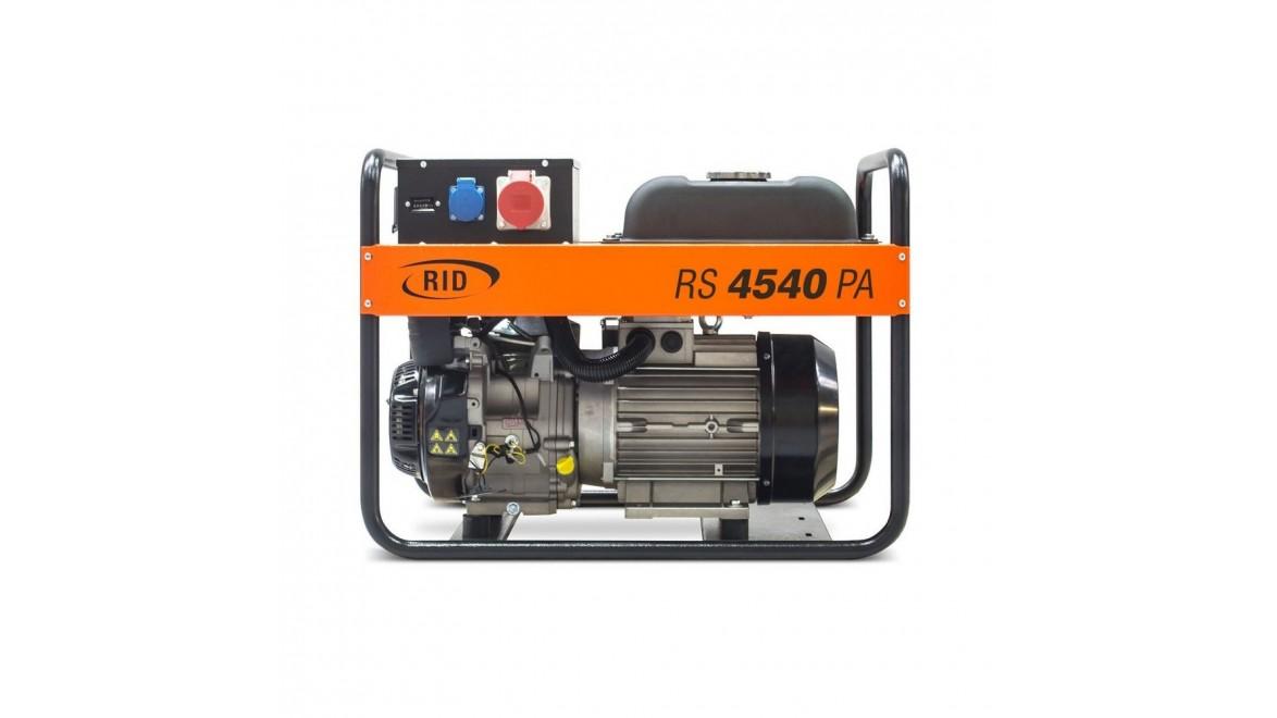 Бензиновый генератор RID RS 4540PA