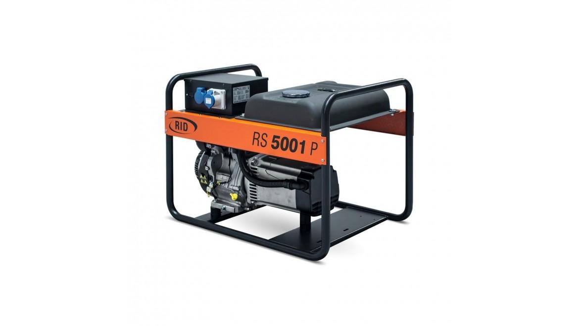 Бензиновый генератор RID RS 5001P