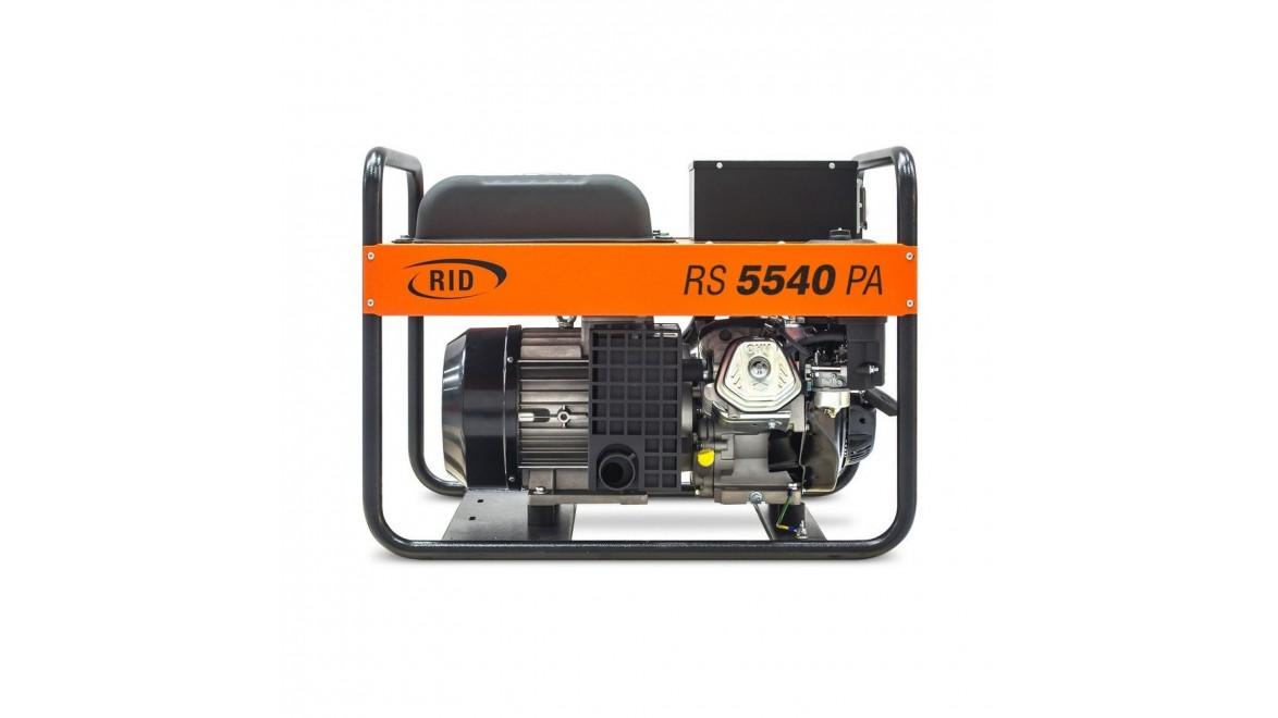 Бензиновый генератор RID RS 5540PA