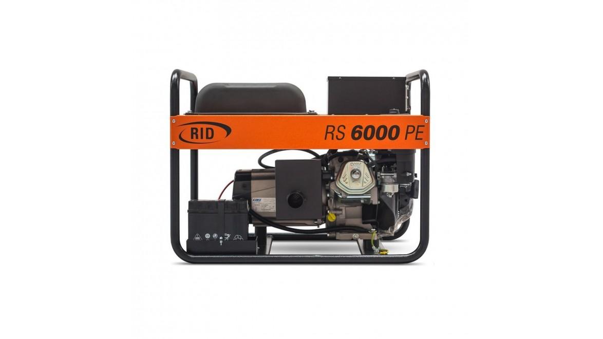 Бензиновый генератор RID RS 6000PE