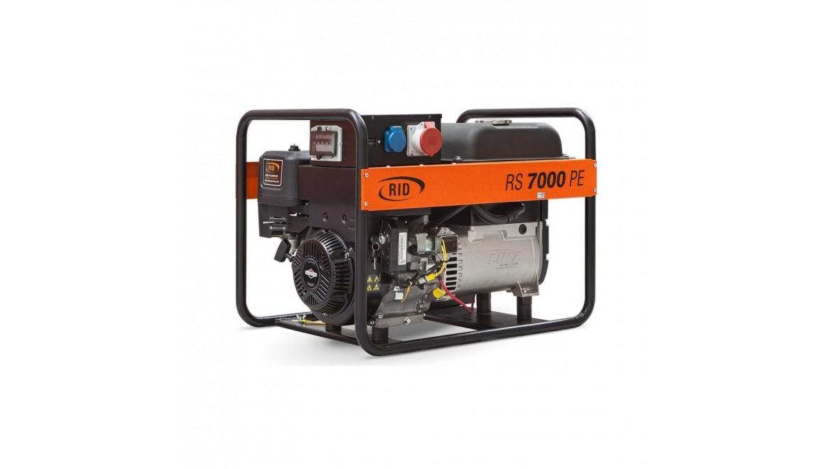 Бензиновый генератор RID RS 7000PE