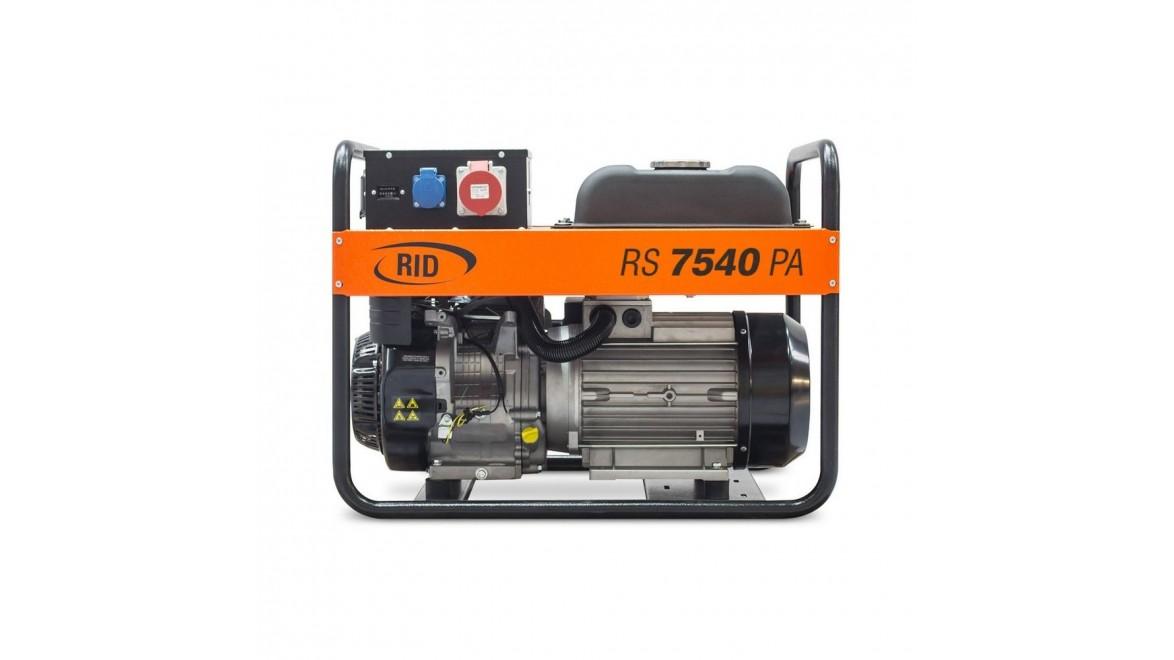 Бензиновый генератор RID RS 7540PA