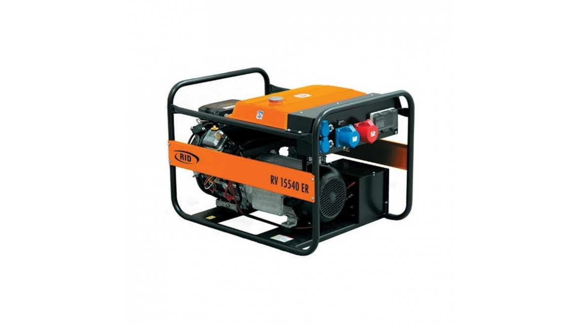 Бензиновый генератор RID RV 15540ER