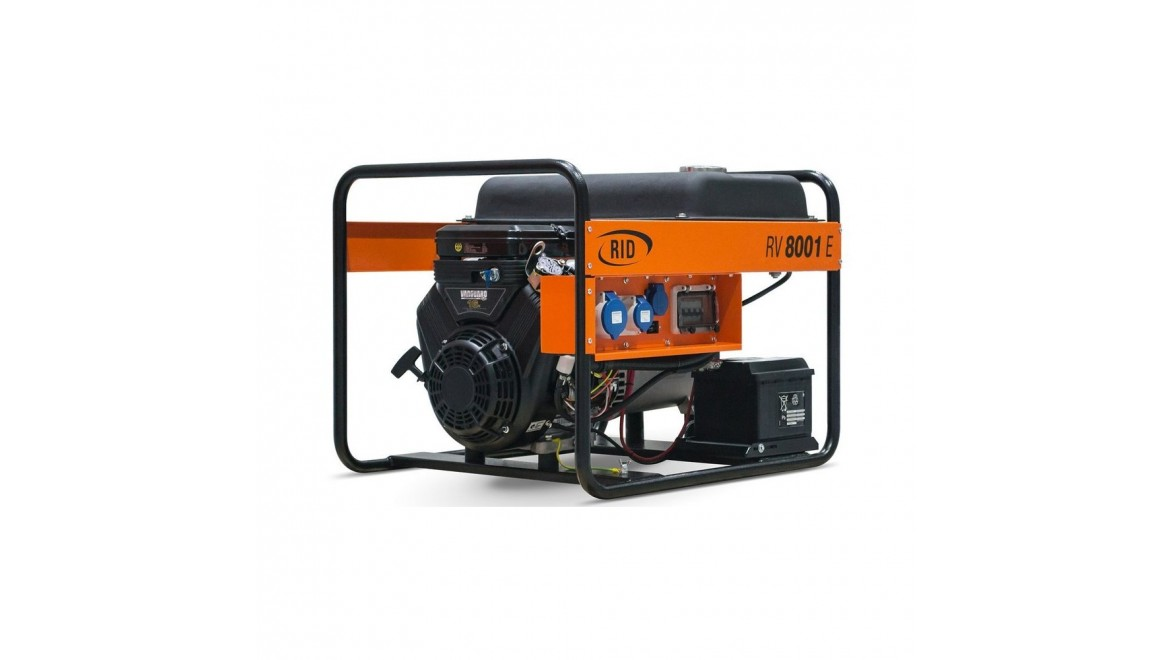 Бензиновый генератор RID RV 8001E