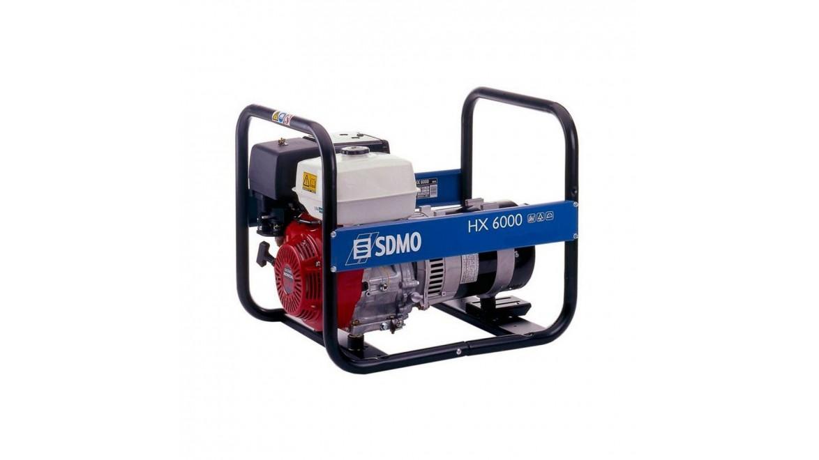Бензиновый генератор SDMO HX 6000 С