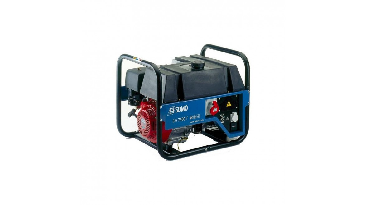 Бензиновый генератор SDMO HX 7500 T C