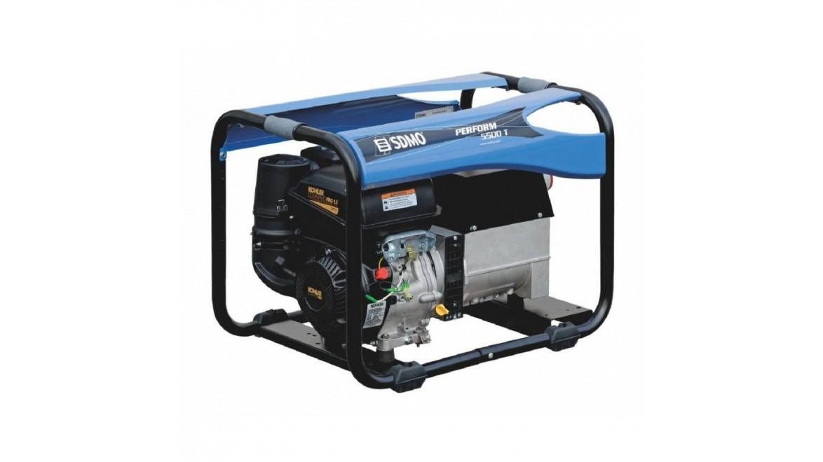 Бензиновый генератор SDMO Perform 5500 T