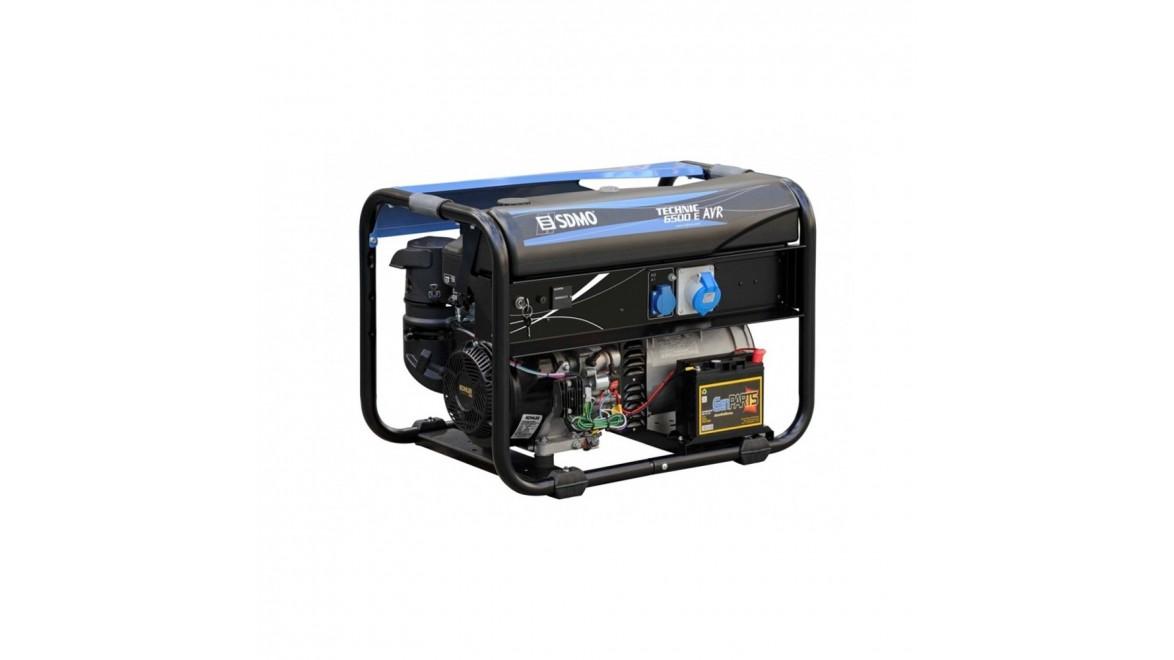 Бензиновый генератор SDMO Technic 6500 E AVR М