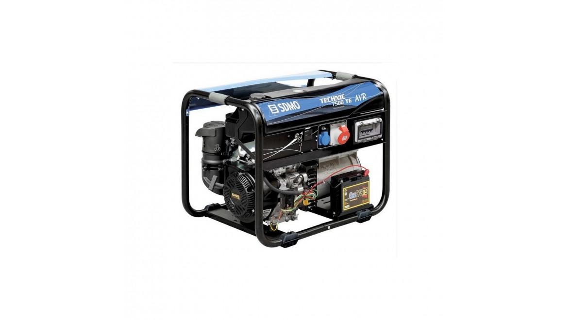 Бензиновый генератор SDMO Technic 7500 TE AVR M