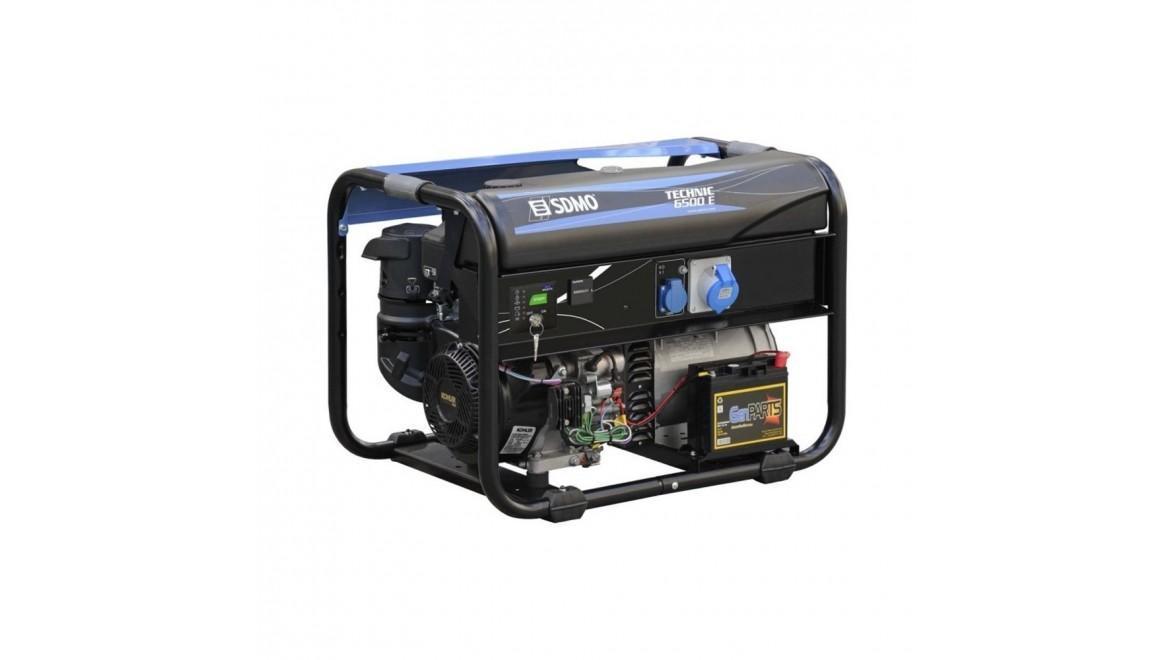Бензиновый генератор SDMO Techniс 6500 Е