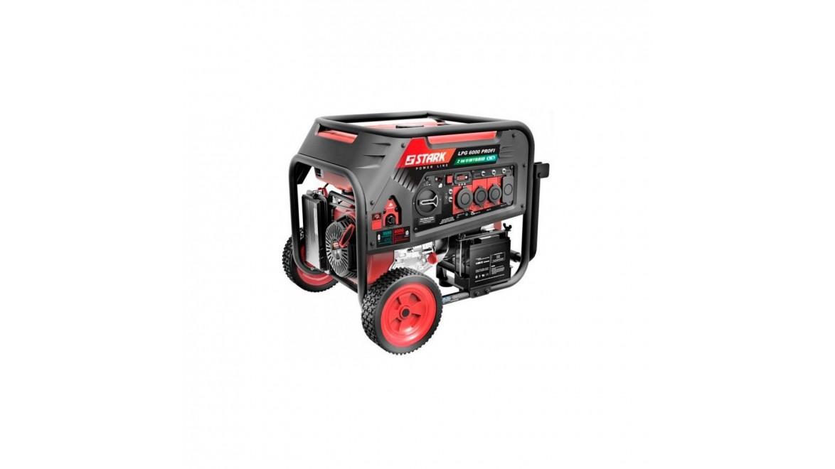 Гибридный генератор Stark LPG 6000 Pro