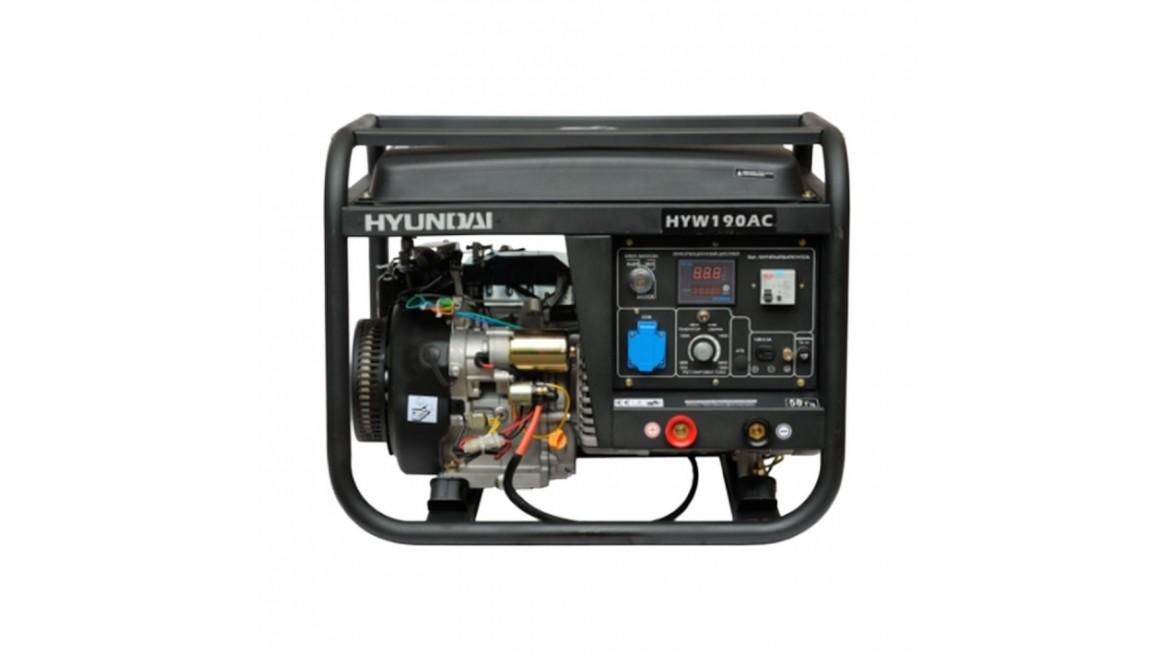 Бензиновый генераторHyundai HYW 190 AC