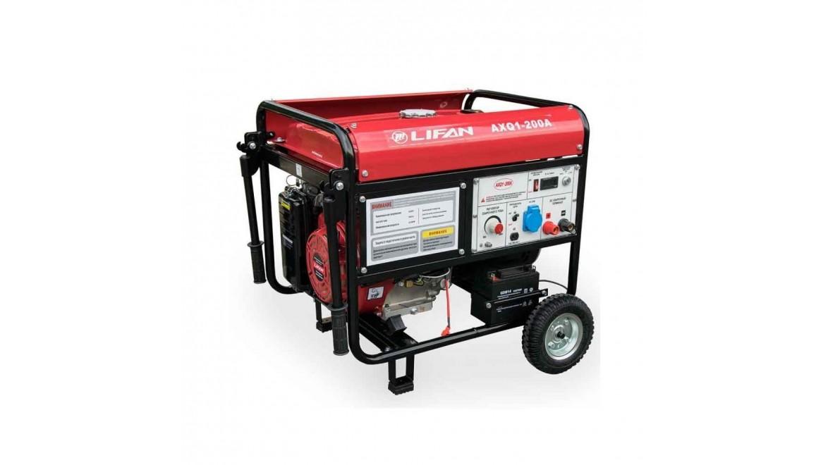 Бензиновый генераторLifan AXQ1-200A