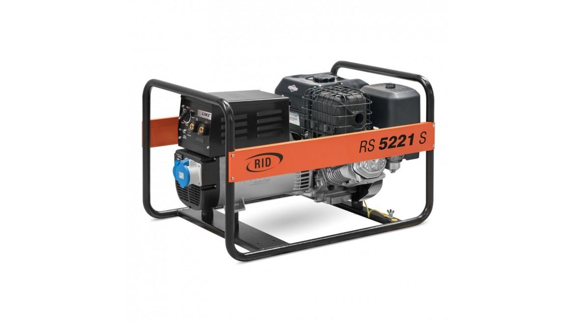 Бензиновый генераторRID RS 5221S