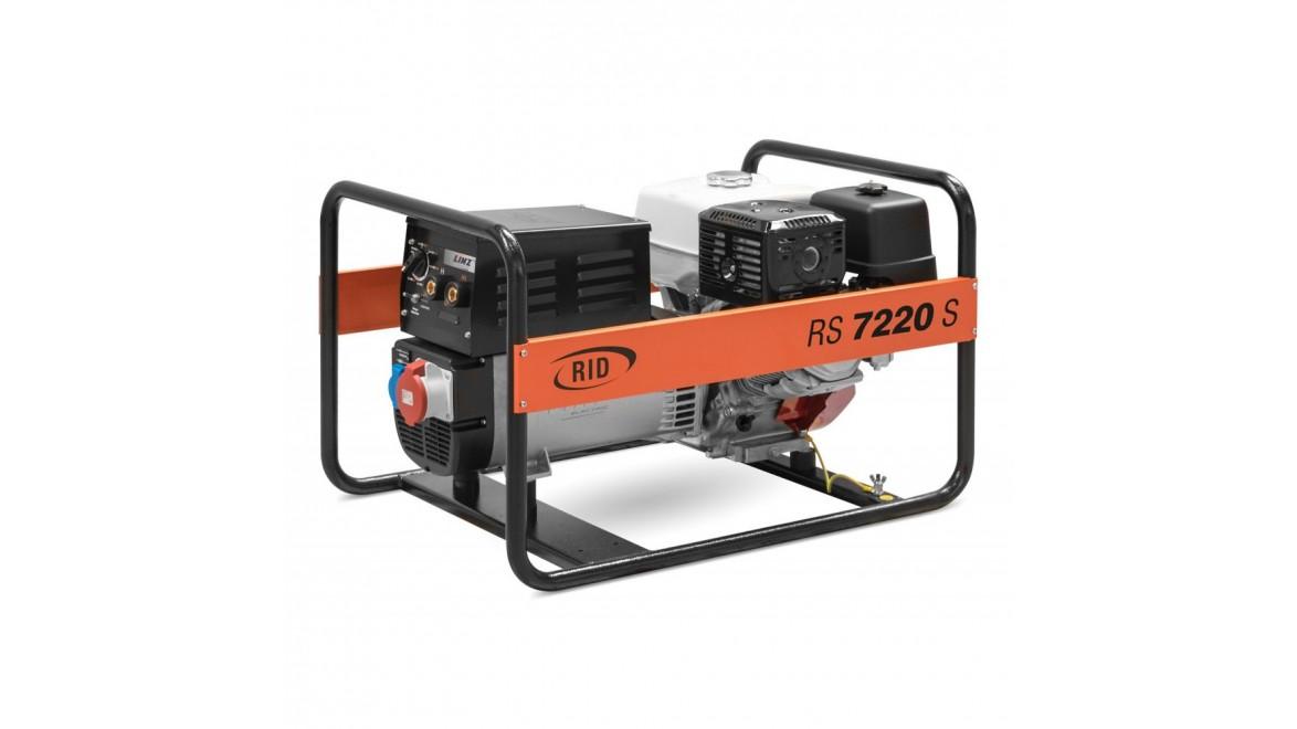 Бензиновый генераторRID RS 7220S