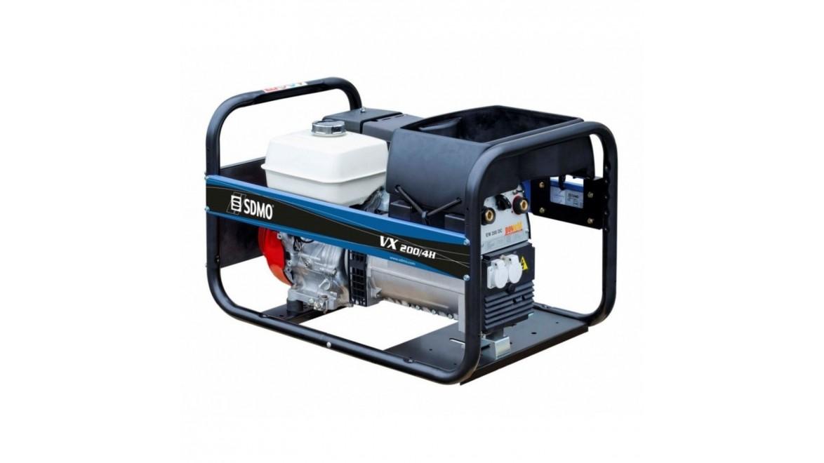 Бензиновый генераторSDMO VX 200 7,5 HS
