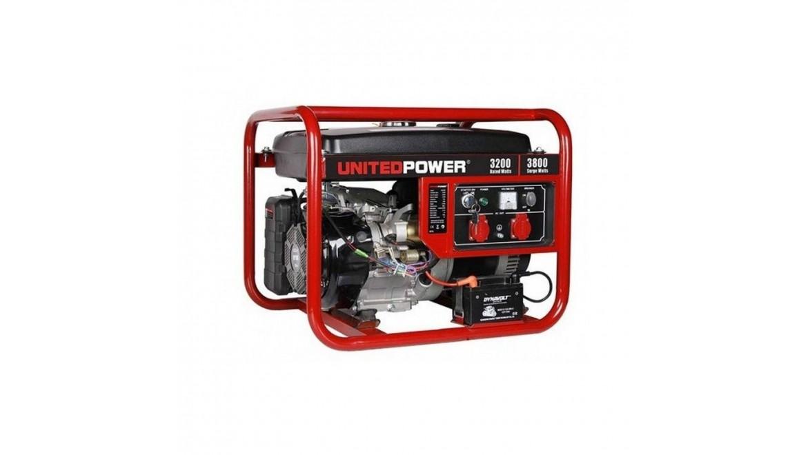 Бензиновый генератор United Power GG4500E