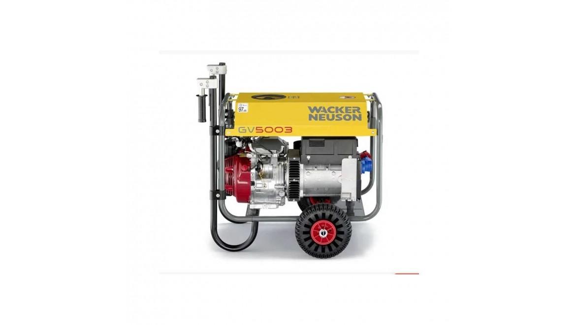 Бензиновый генератор Wacker Neuson GV 5003A